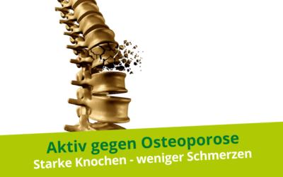 Aktiv gegen Osteoporose