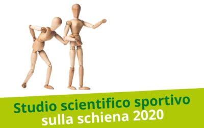 Studio scientifico sulla schiena